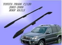 Рейлинг. Toyota Land Cruiser Prado, TRJ125, RZJ120, TRJ12, KDJ125, GRJ120, TRJ120W, KDJ121, RZJ125, VZJ120, RZJ120W, KDJ120W, KDJ121W, VZJ121W, TRJ120...