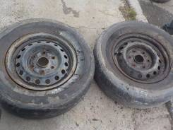 Два диска  с резиной Goodyear Eagle RV, 215/70 R15