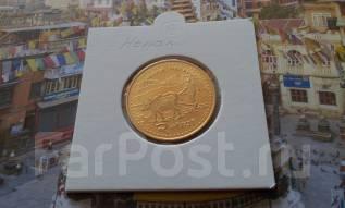 Непал. 2 рупии 2006 года. UNC!