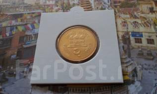 Непал. 2 рупии 2003 года. UNC!