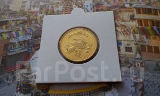Непал. 1 рупия 1996 года. UNC!