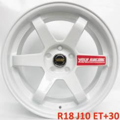 RAYS VOLK RACING. 10.0x18, 5x114.30, ET30, ЦО 73,1мм.