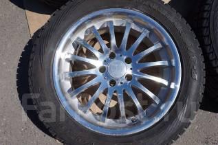 225/60R18 Зимние шины с литыми дисками Blonks. Без пробега по РФ. 7.5x18 5x114.30 ET42 ЦО 73,0мм.