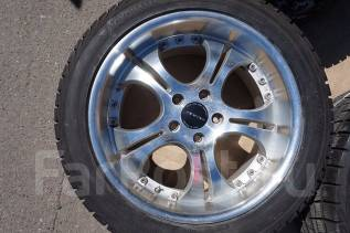 255/45R18 Зимние шины с литыми дисками Precious. Без пробега по РФ. 8.0/9.0x18 5x114.30 ET45/45 ЦО 73,0мм.