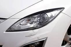 Накладка на фару. Mazda Mazda6, GH Двигатели: MZRCD, R2AA, RF7J, R2BF, MZR, L5VE, L813, LF17, MZRDISI, LFDE