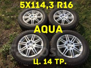 "AQUA. 6.5x16"", 5x114.30, ET38"