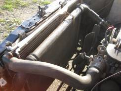 Радиатор охлаждения двигателя. Mercedes-Benz E-Class, W124 Двигатель 104