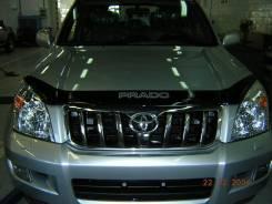 Дефлектор капота. Toyota Land Cruiser Prado, KDJ120