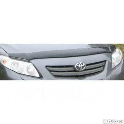 Дефлектор капота. Toyota Corolla, ADE150, ZRE172, ZRE182, NRE180, NRE150, NDE150, ZRE161, ZRE142, NRE160, ZRE181, NDE160, ZRE151 Двигатели: 2ZRFE, 1ZR...