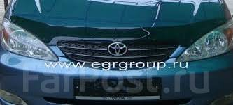Дефлектор капота. Toyota Camry, ACV30, ACV30L, ACV35, MCV30, MCV30L Двигатели: 1MZFE, 2AZFE, 3MZFE