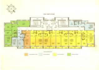 1-комнатная, улица Запарина 113. Центральный, агентство, 29 кв.м.