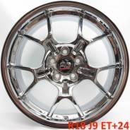 Оригинал! OE Wheels 8182233 R18 J9 ET+24 5Х114,3 ХРОМ! [1835]. 9.0x18, 5x114.30, ET24, ЦО 70,8мм.