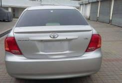 Спойлер. Toyota Corolla Axio, ZRE142, NZE141, NZE144