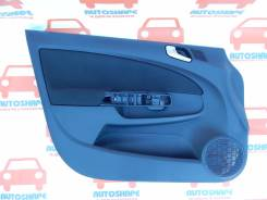 Обшивка двери передней левой Opel Corsa D