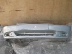 Hyundai Accent 03- Бампер передний окрашенный Серебро (S14 Кристалл) 8