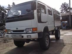 Nissan Atlas. Продается грузовик 4ВД, 2 700 куб. см., 1 250 кг.