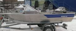 Rusboat. Год: 2016 год, длина 4,30м., двигатель подвесной, 40,00л.с., бензин