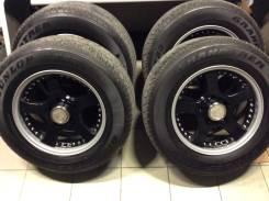 Колёса R18 Toyota L. C.100/200 (Lodio Drive) Dunlop AT23. 9.5x18 5x150.00 ET51 ЦО 112,0мм.