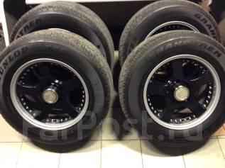 """Колёса R18 Toyota L. C.100/200 (Lodio Drive) Dunlop AT23. 9.5x18"""" 5x150.00 ET51 ЦО 112,0мм."""