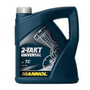 Мото масло минералка Mannol 2-TAKT Universal 4литра