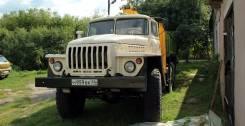 Урал 4320. с КМУ Sakai, 10 850 куб. см., 10 000 кг.