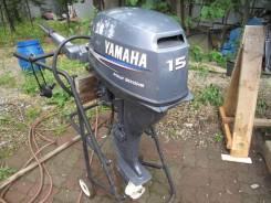 Yamaha. 4-тактный, бензиновый, нога L (508 мм), Год: 2004 год
