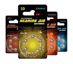Батарейки ZA 13-BC6 1/60 для слуховых аппаратов