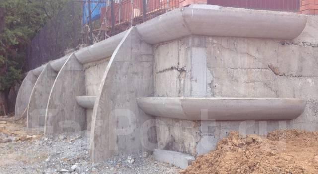 Ремонт подпорной стены
