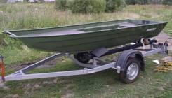 Rusboat. Год: 2016 год, длина 3,80м., двигатель подвесной, 15,00л.с., бензин