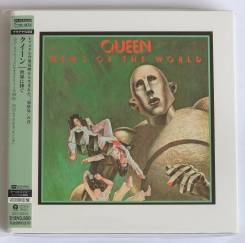 Queen / News Of The World Japan Platinum Mini LP SHM-CD Out Of Print