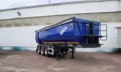 MEGA. Новый самосвальный полуприцеп Mega 28 m3, 40 000 кг.