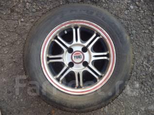 Продаю комплект шин с литыми дисками. x13