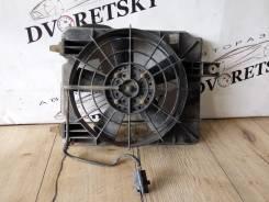 Вентилятор радиатора кондиционера. Geely MK