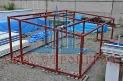 Проектирование и Изготовление металлоконструкций из Металлокаркаса
