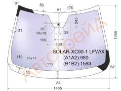 Стекло лобовое в клей VOLVO XC90 4D UTILITY 2003- XYG SOLARXC901LFWX