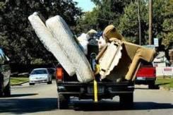 Вывоз любого мусора-мебели и металлолома с гаража-дачи