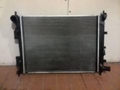 Радиатор охлаждения двигателя. Hyundai Solaris Kia Rio