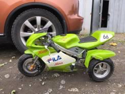 Kawasaki. 50 куб. см., исправен, без птс, без пробега