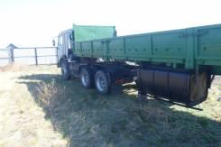 Камаз 54115. Камаз - 54115-15 с прицепом, 10 850 куб. см., 20 000 кг.
