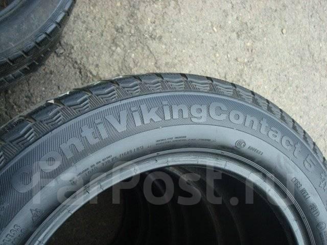 Continental ContiVikingContact 5. Зимние, без шипов, 2011 год, 30%, 2 шт