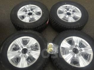 285/60R18 Bridgestone DM-V2 + литье оригинал Lexus 450d 570 TLC200. 8.0x18 5x150.00 ET56 ЦО 110,1мм.