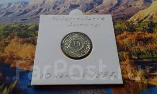 Нидерландские Антильские острова. 10 центов 1997 года.