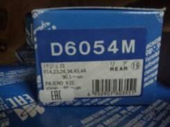 Колодка тормозная. Mitsubishi Delica Space Gear, PD4W, PF8W, PD6W, PF6W, PD8W, PE8W Mitsubishi Pajero, V26W, V24V, V25W, V24W, V23W, V24WG, V26WG, V21...