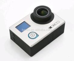 Экшен камера 4K с WIFI + 2 экрана, экшн видеокамера Novatek96660. 10 - 14.9 Мп, с объективом