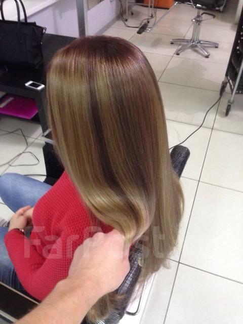 Окрашивание волос ночью - это удобно ! Работаем по ценам 2015 года !