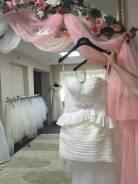 Свадебные платья короткие.