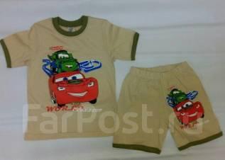 Комплект футболка-шорты. Рост: 110-116 см