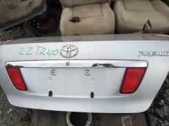 Багажный отсек. Toyota Premio, ZZT240