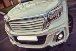 Дефлектор капота. Toyota Land Cruiser Prado, GDJ150L, TRJ12, GDJ150W, GDJ151W, GRJ150L, KDJ150L, GRJ150W, GRJ151W, TRJ150W