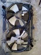 Радиатор охлаждения двигателя. Nissan Bluebird, EU14 Двигатель SR18DE